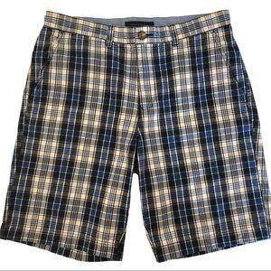 Tommy Hilfiger men's shorts plaid size 32
